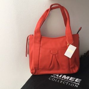 Aimee Kestenberg Large Pebbled Leather Bag (NWT)